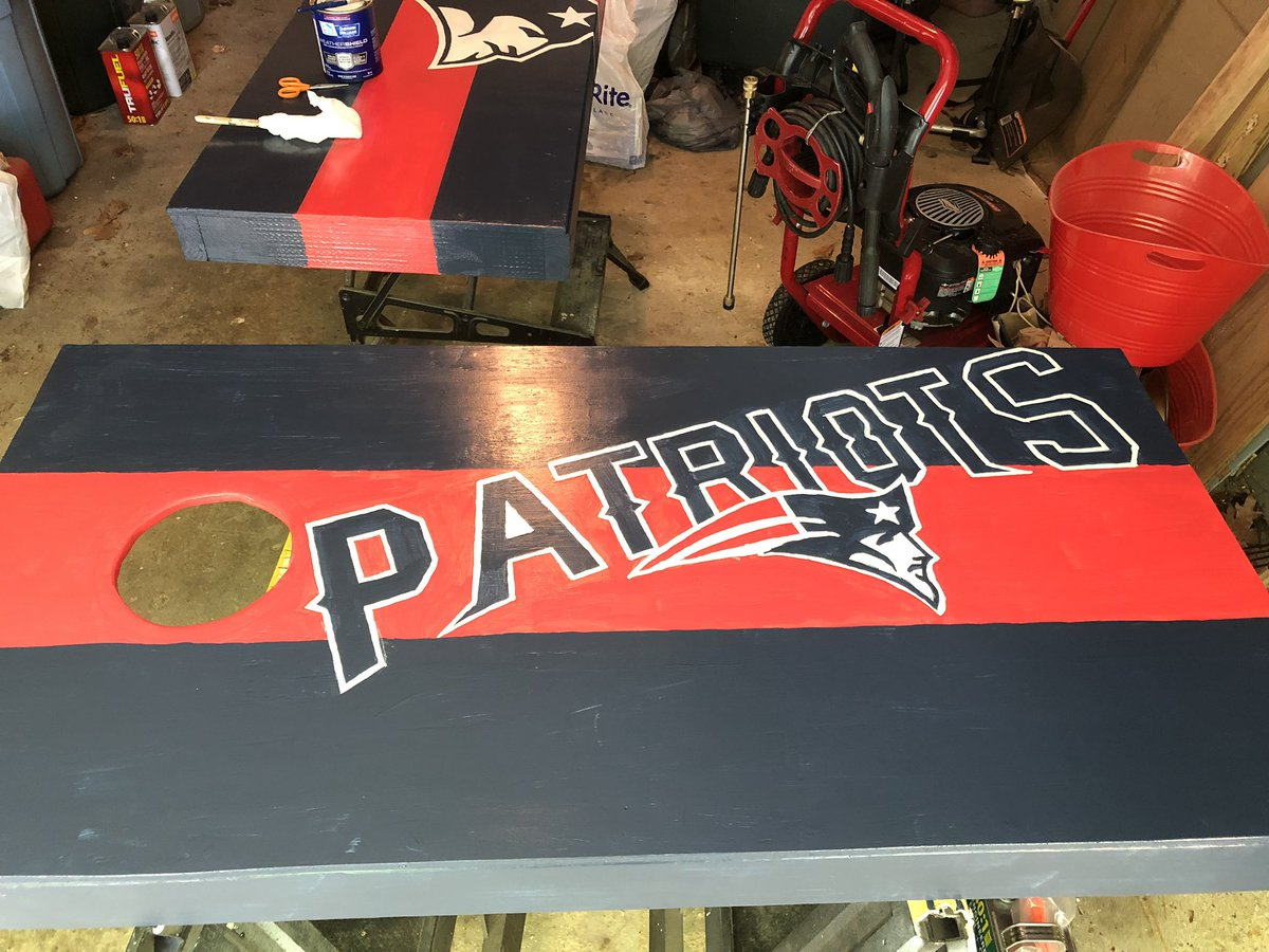 Getting ready for the season #PatsNation <br>http://pic.twitter.com/fQWPqPcQxd