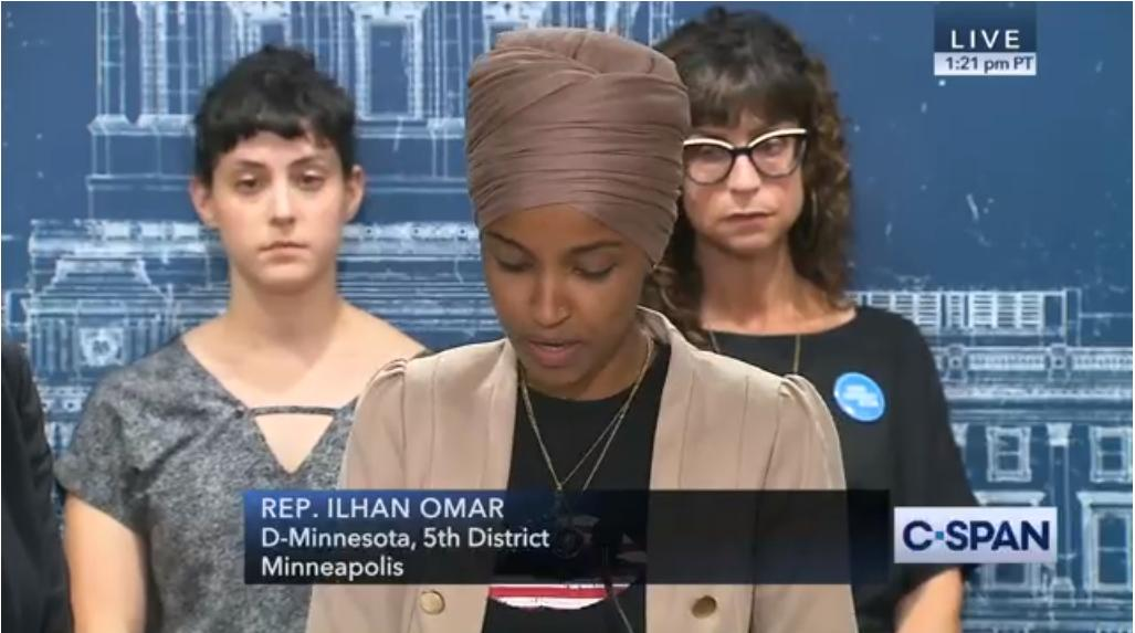 @IlhanMN @RashidaTlaib @cmclymer @thehill @AFJustice @UNITEDWEDREAM @MoveOn @CAPAction @MuslimAdvocates @LawyersComm @Re4mImmigration @RAICESTEXAS .@IlhanMN: We know Donald Trump would love nothing more than to use this issue to pit Muslim Americans and Jewish Americans against each other.