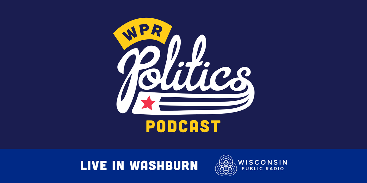 We're coming to town, Washburn. Join us for a live event/recording WPR's Politics Podcast on 9/12. Lively political conversation + a beer! https://www.wpr.org/presents