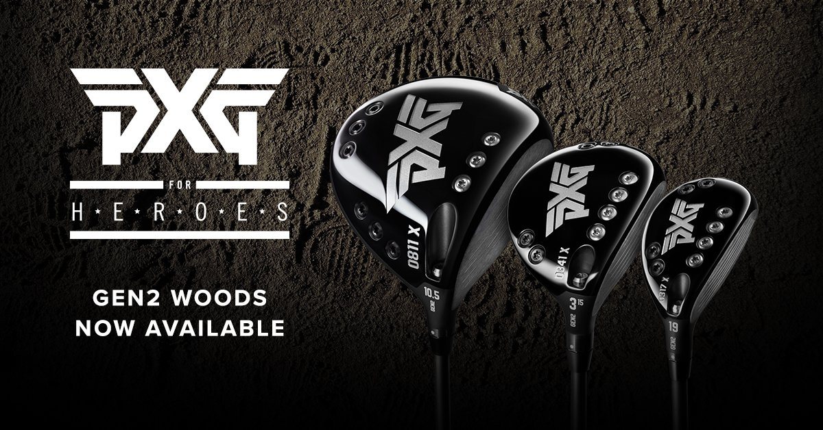 #PXG for Heroes is designed to provide the world's finest golf equipment and apparel to our nation's finest and we've extended the program even further by including our PXG GEN2 Woods! Tap  http:// bit.ly/PXGHEROESGEN2W OODS   …  to pick up yours with your special price consideration. #PXGTroops<br>http://pic.twitter.com/2sVQAzfvd7