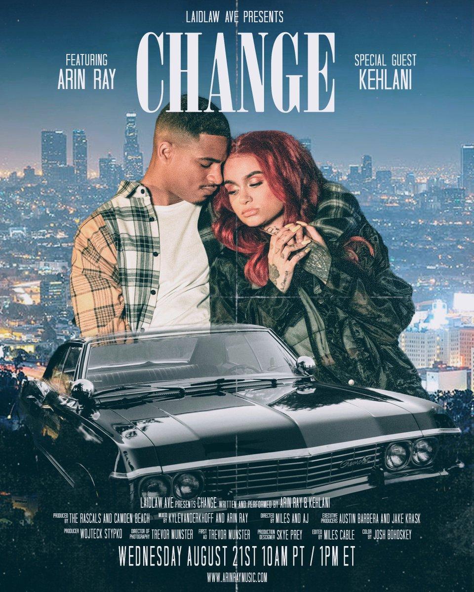 CHANGE VISUAL WEDNESDAY 10AM PT / 12PM ET 🥀 @Kehlani