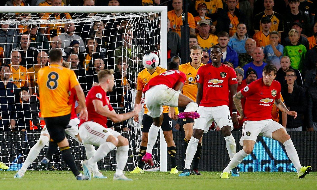 أهداف تعادل مانشستر يونايتد وولفرهامبتون