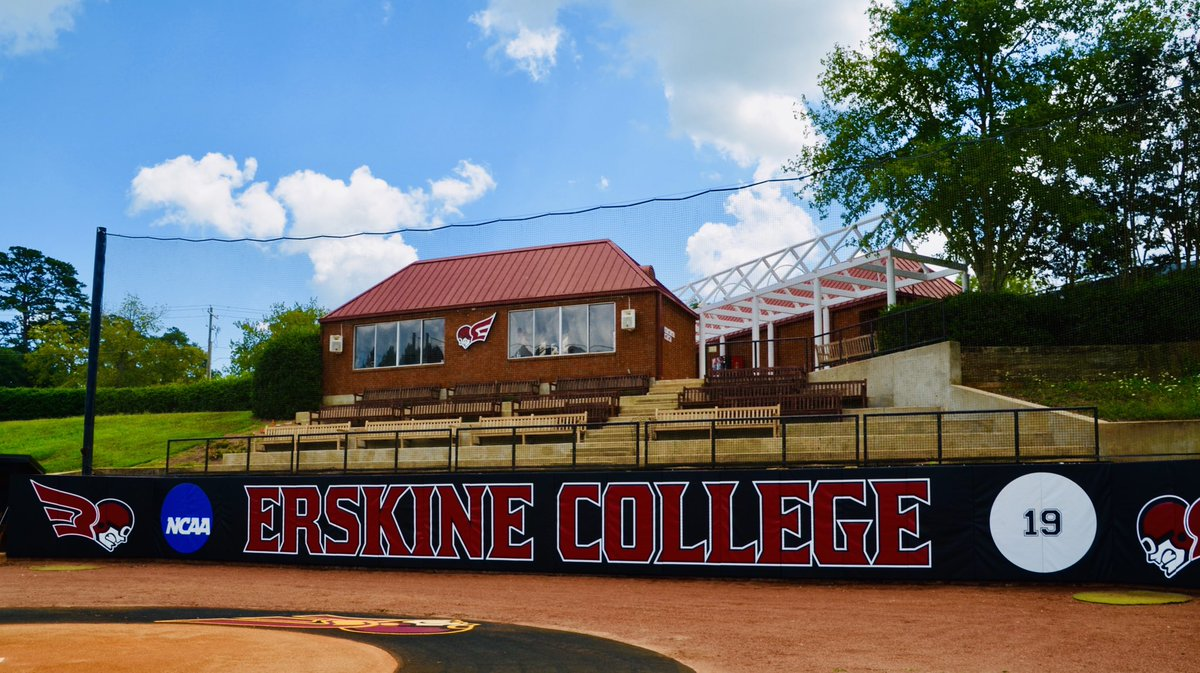 As we approach the start of Fall Practice - Erskine College Baseball would like thank @Fisher_Athletic for an outstanding job on our backstop! #FlyFleetFly #Excellence<br>http://pic.twitter.com/F9cEHeEl4l