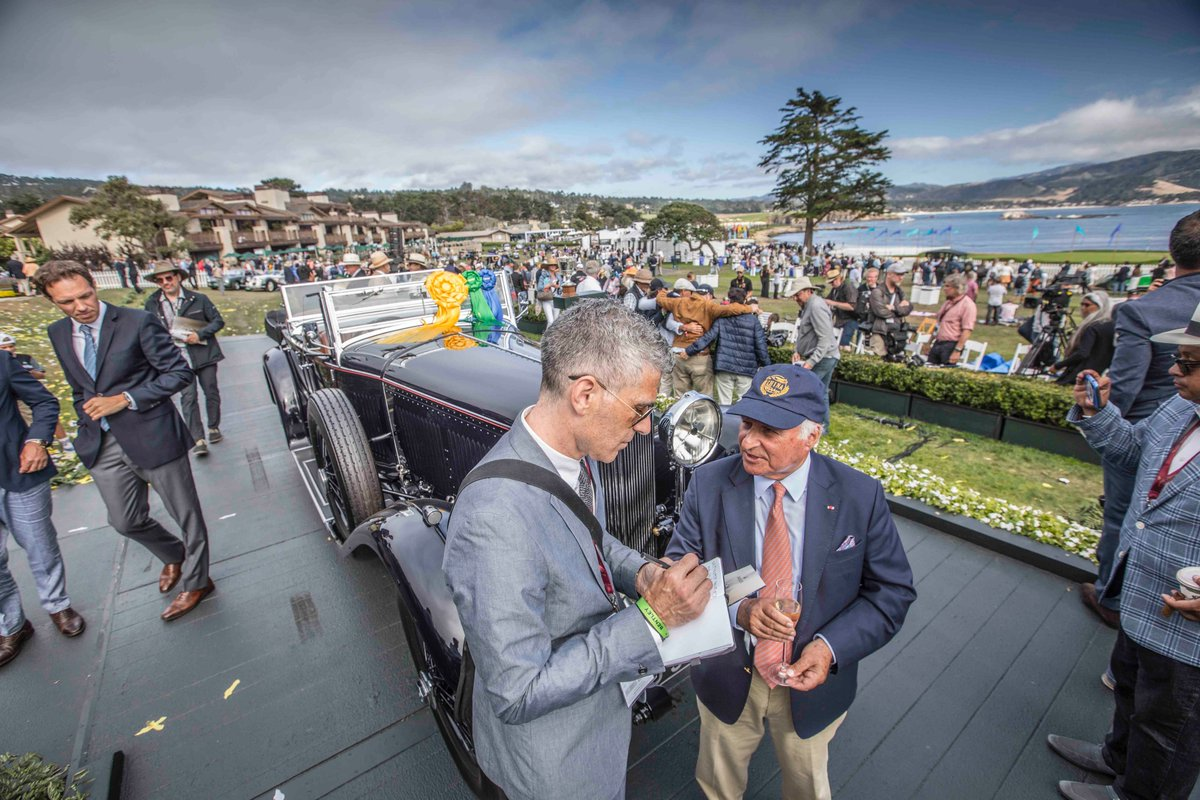 Read my exclusive interview with the owner of the @PebbleConcours Best of Show-winning 1931 @BentleyMotors 8-Litre, @PeninsulaHotels chairman Sir Michael Kadoorie. LINK----> bit.ly/2KUbTVQ via @ArchDigest