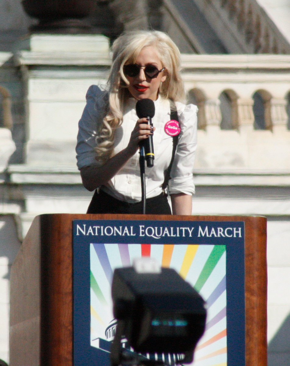 lady gaga is the reason why we have gay rights  <br>http://pic.twitter.com/x80gSoXiRV