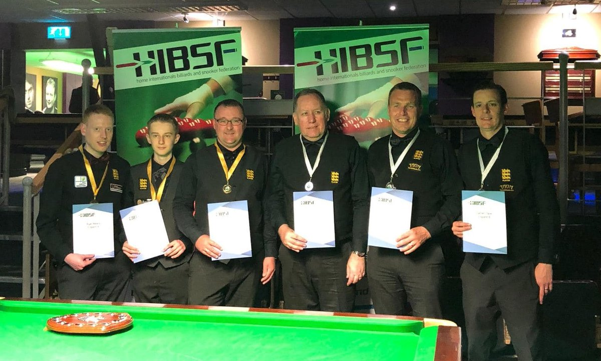test Twitter Media - HOME INTERNATIONALS REPORT 🏆🏆🏆  🏴 Team England did us proud during the recent 2019 Home Internationals in Leeds.  The Under-21 and Under-16 snooker teams collected both gold and silver, as did our Billiards sides to finish the festival off.   Report👇  https://t.co/ZbspcBntdw https://t.co/3t1WOJcmXU