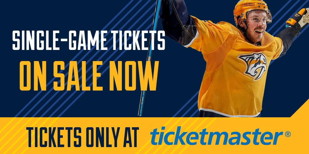 Hockey returns to Smashville on September 16. You ready? #Preds Get tickets: bit.ly/2KH0FoH