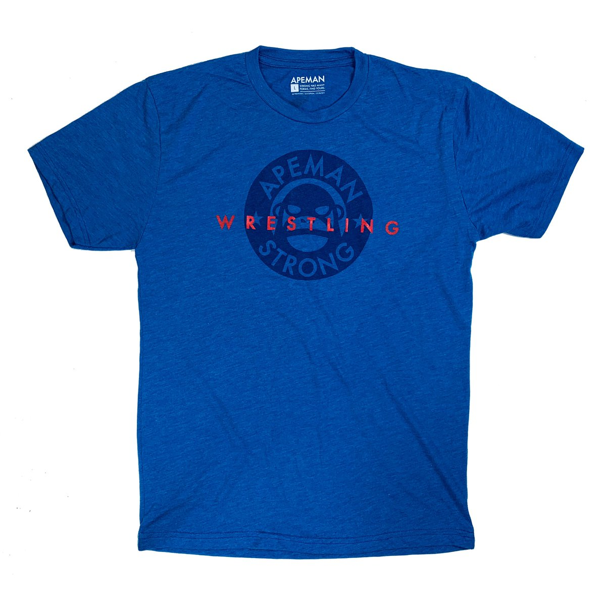 New WRESTLING Tee. apemanstrong.com/new-releases/w…