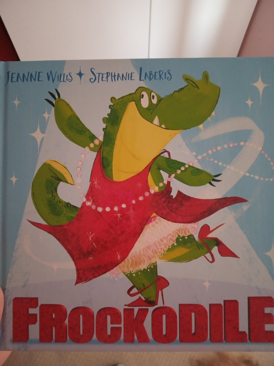 Stumbled across this book at the library. All about a boy croc who gets caught wearing a dress and heels that he found. Scared of what his tough dad might say. Turns out they are his dads. Triggered great convo between me and my 5yo.