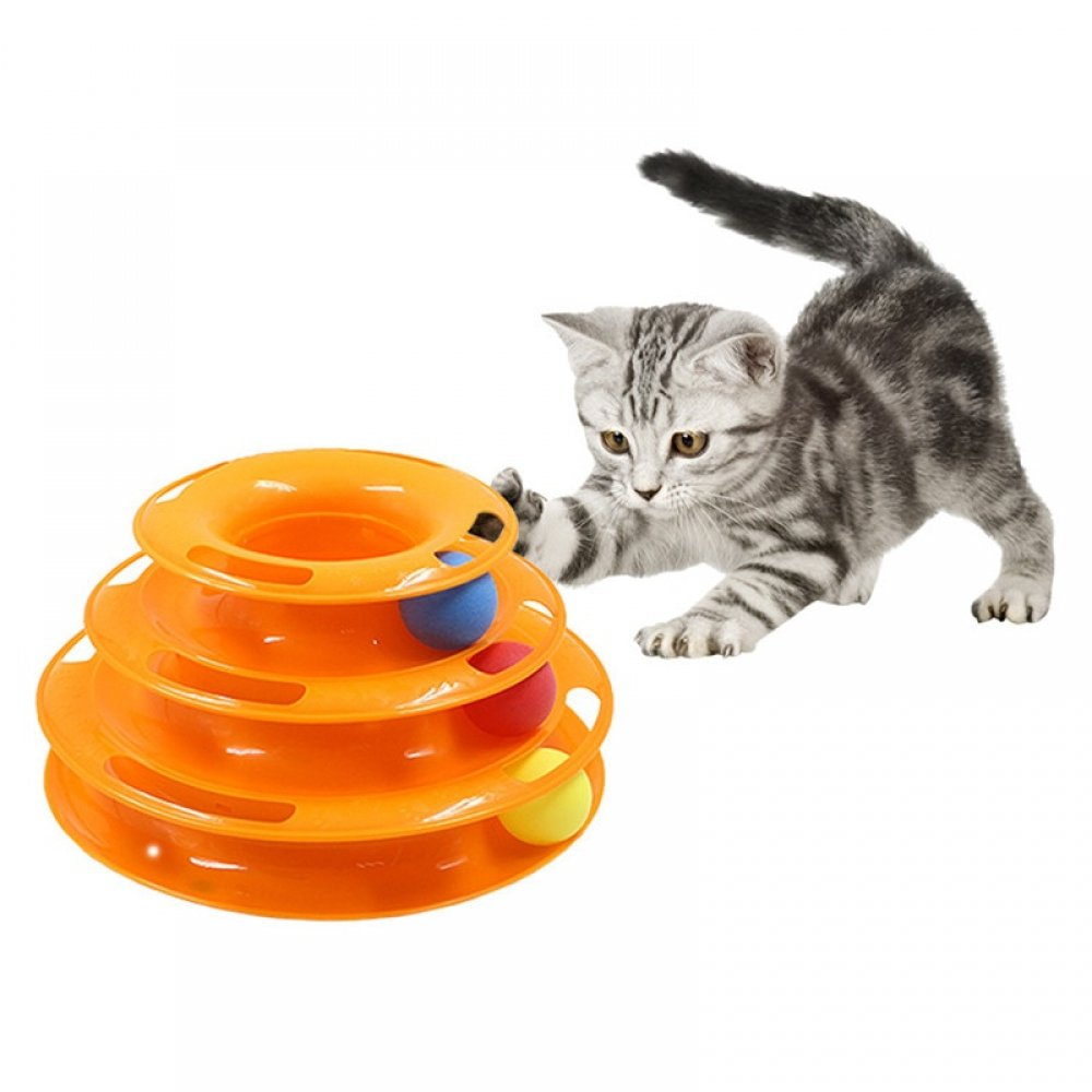 Three Levels pet cat toy Tower Tracks Disc cat Intelligence Amusement triple pay disc cat toys ball Training Amusement plate Bseelo - Simple Pets Neccessities Buy your pets' stuff @  http://www. bseelo.com      Follow, Tag, and Share.  #TearItUpBTS #cats #dogs<br>http://pic.twitter.com/OOY0hov3Cp