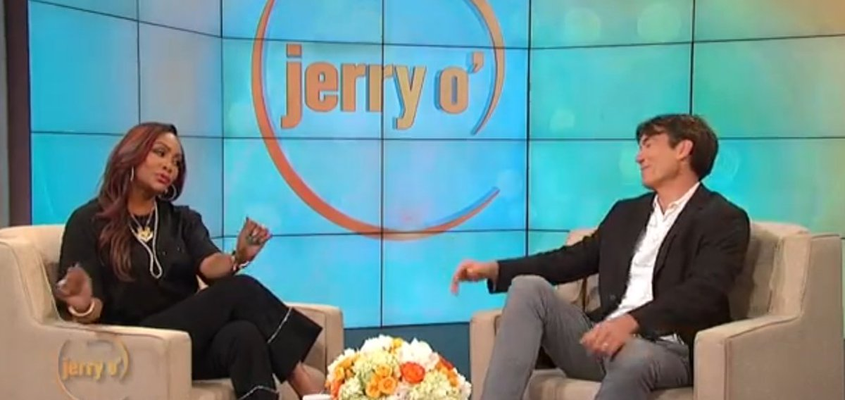 QUEEN: @MsVivicaFox is the best on the planet of being interviewed. Great job @MrJerryOC #jerryoshow