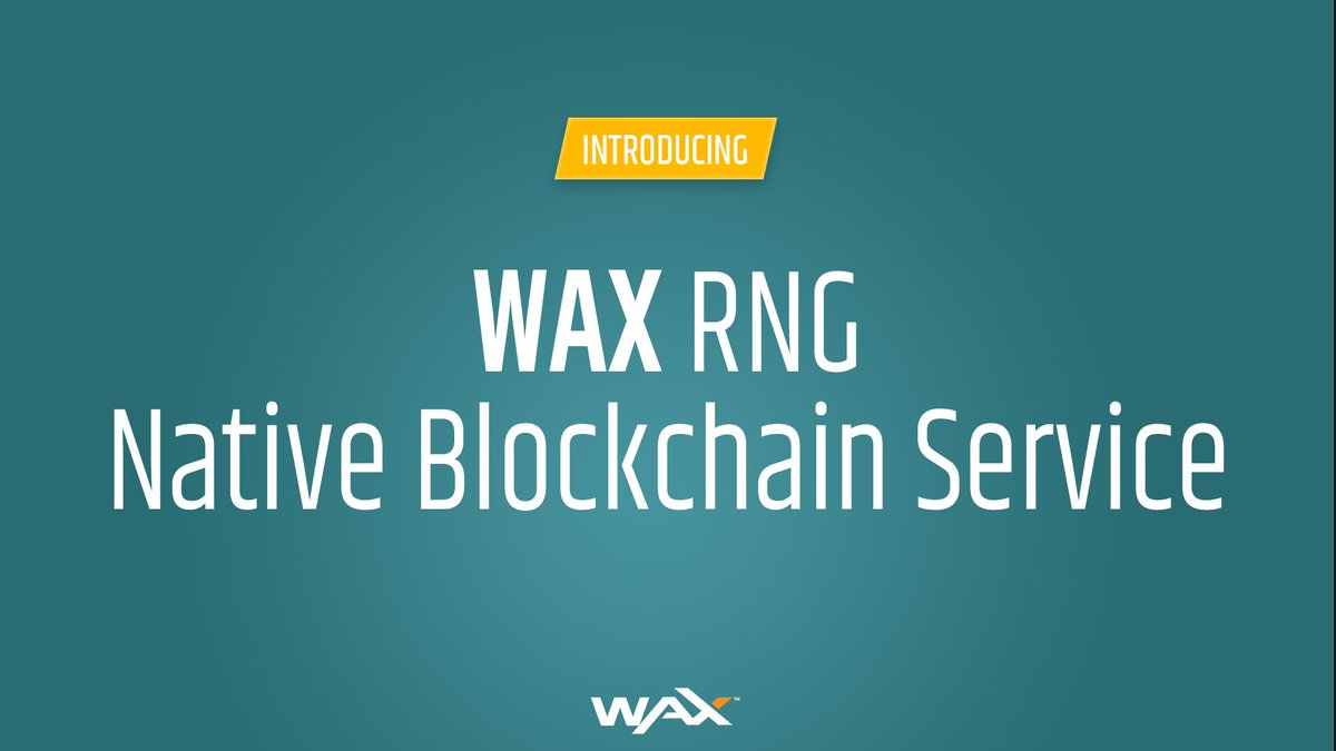 Tweet by @wax_io