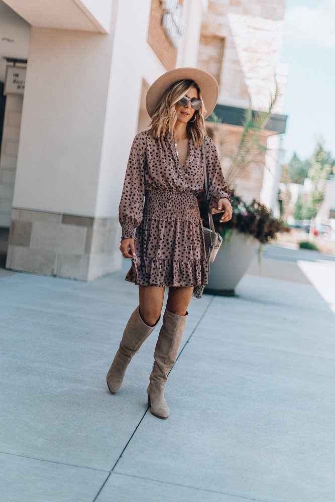5 Leopard Dress and how to style for Fall today on the blog with @nordstrom #nordstrom #ad Love the smocked detail on this one! https://t.co/Pqat6lH4aP more on https://t.co/rspv2JCmoI https://t.co/jtu7gnoZKh