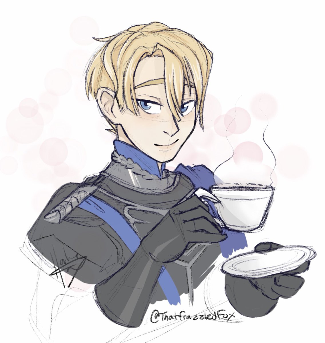 Our fearless leader of the blue lions! Enjoying this game so much, I just want to protect all these good kiddos!! Little sketch gift for a friend #FireEmblemThreeHouses<br>http://pic.twitter.com/6ZjzsX1MuY