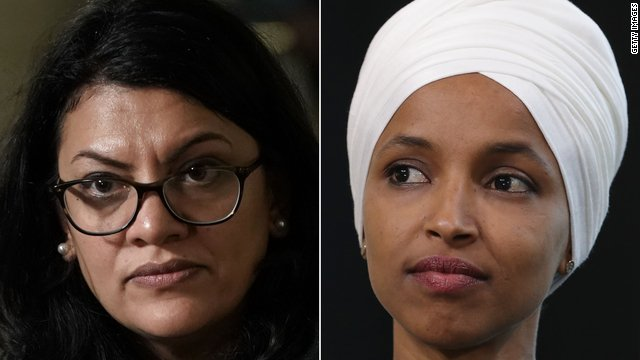 Rep. Ilhan Omar and Rep. Rashida Tlaib sharply criticized President Trump and Israeli Prime Minister Netanyahu at an emotional news conference following their canceled Israel trip  https://cnn.it/2NkEV3t