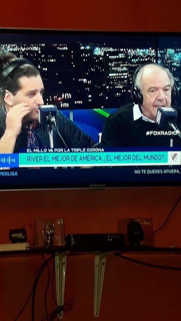 Que impresentable el periodismo deportivo en Argentina. River con suerte terminaria 5to o 6to en la liga española no me jodan !