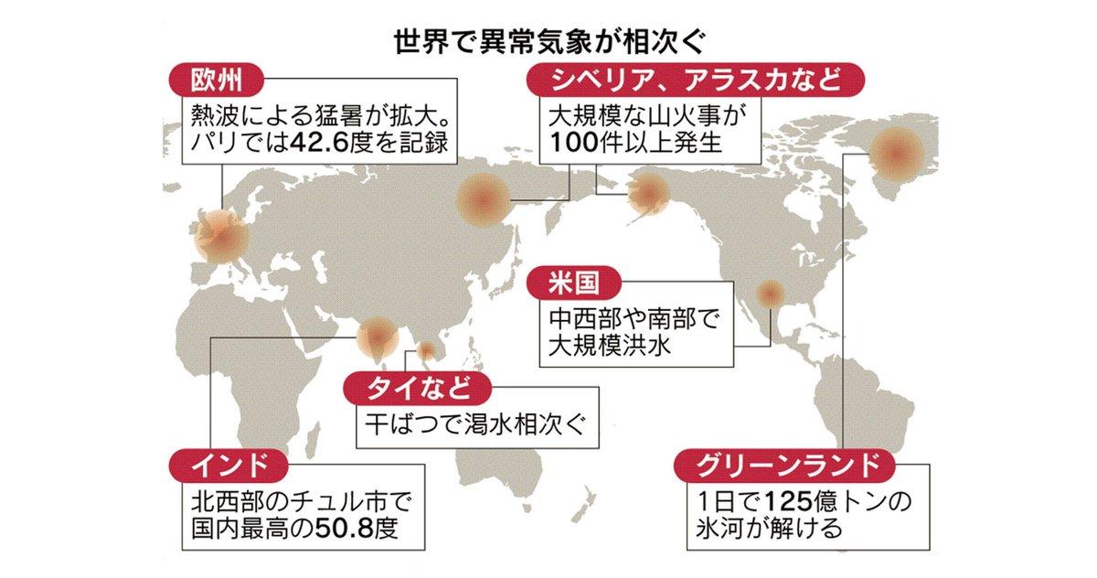 @nikkei's photo on 気候危機