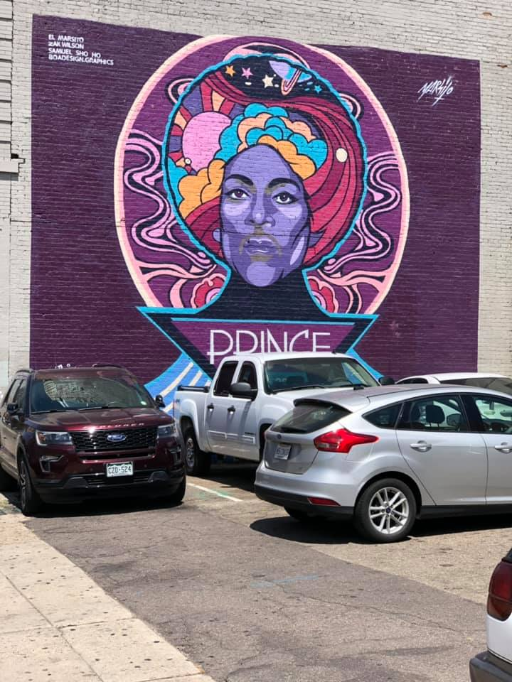 Spotted in Denver, CO located on the side of Vinyl nightclub in the 1000 block of Broadway .... #PrinceArt  #Prince4Ever  <br>http://pic.twitter.com/tNYaaXEODm