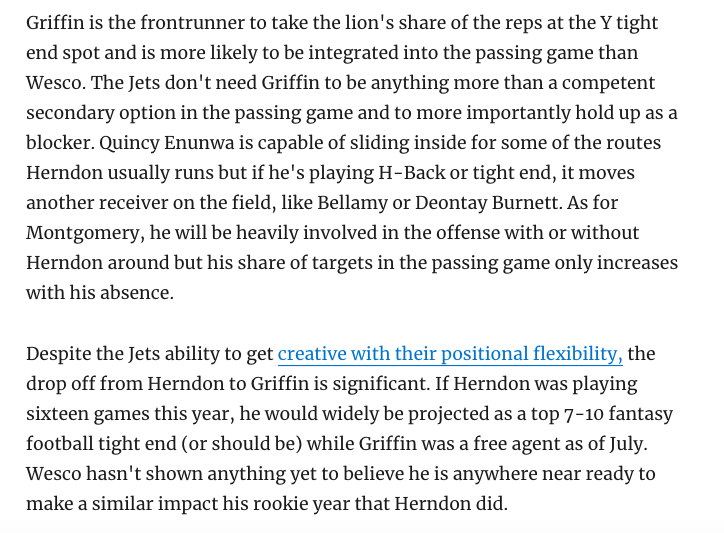 ICYMI: New one today on the middle class of the #Jets roster wp.me/p4ulgP-d90