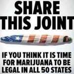 Image for the Tweet beginning: Retweet for legalization