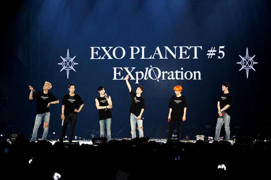 """Don't Miss #EXO In Singapore With """"EXO PLANET #5 – EXplOration"""" soompi.com/article/134671…"""