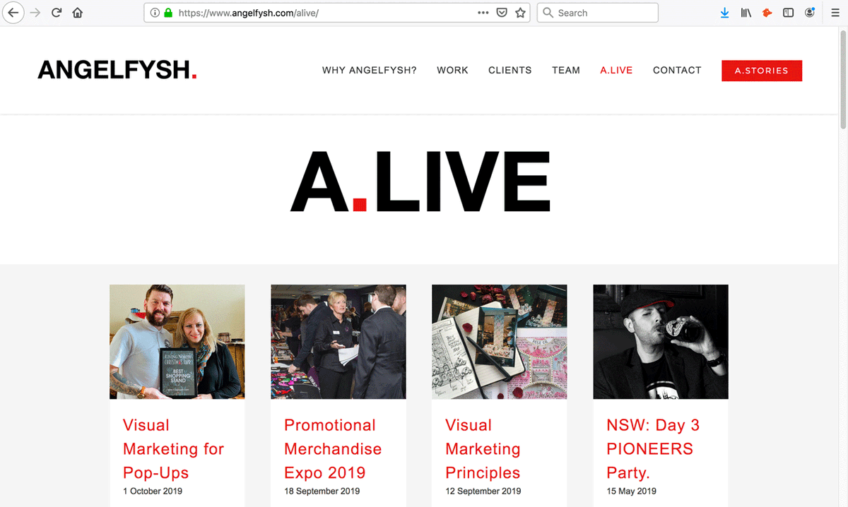 This year the ANGELFYSH team will be LIVE delivering talks around the UK, Europe and the US. Keep up-to-date at the A.LIVE section of our website 👇 angelfysh.com/alive/ ANGELFYSH. CONSULTANTS THAT DO. @being50odd @lordlancaster @deb_writer @HilaryMDunne