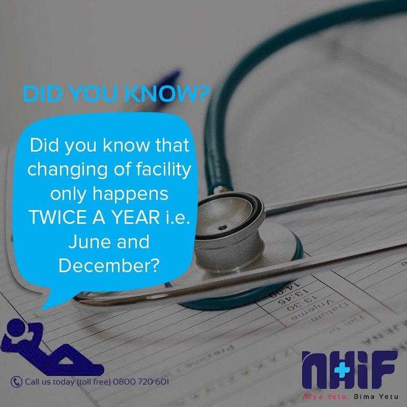 Did you know? #NHIFKenya #Supacover