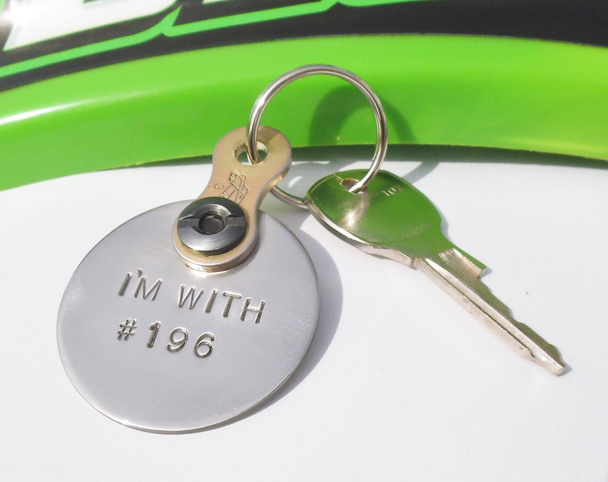 Metal Keychain Husband Dirt Track Racing Dirtbike Chain Keyring Moto Couple MX Outdoor Sport Got Dirt I'm With Number Taken Keychain Him Her http://tuppu.net/e3e01ff1 #Shopify #CandTCustomLures #Metal_keychain
