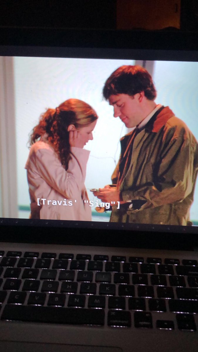 Season 6 Ep.14 makes me happy but sad bc there's like a whole 3 minutes of him and Pam moments and like why can't I - nvm buenas noches