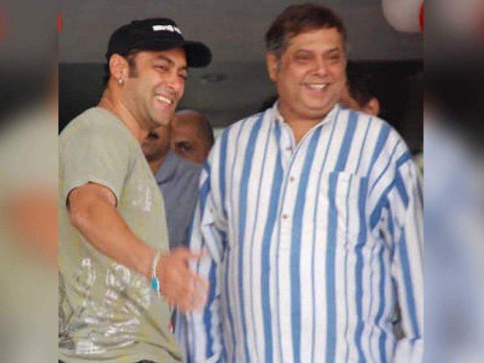 Salman wishes David Dhawan a \Happy Birthday\