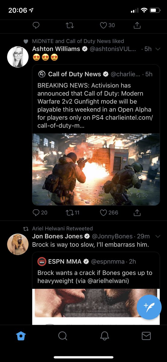 Dillon Pomeroy On Twitter My Timeline Was Full Of Cod Stuff And I Thought Jon Bones Jones Was Calling Out Youtubebrock Hahaha