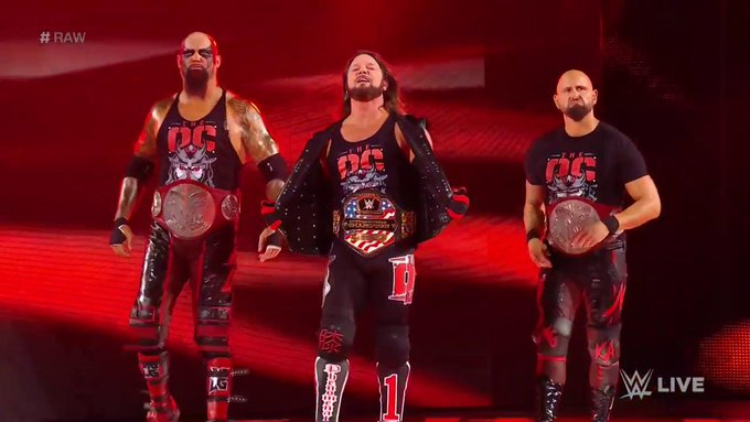 #RAW I still think The OC are just the unofficial Bullet Club version of the Wolfpac. <br>http://pic.twitter.com/N4fy3fB9Ft