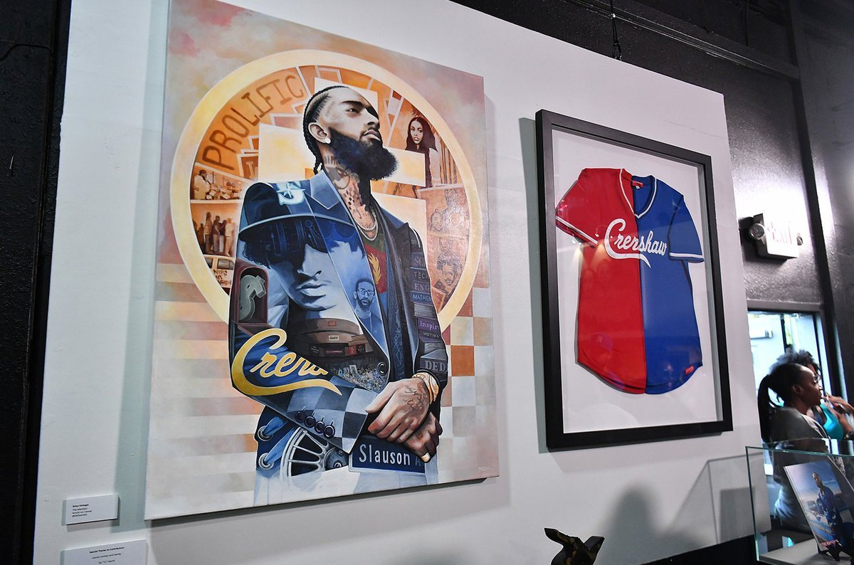 T.I. Unveils Nipsey Hussle Exhibit In The Trap Music Museum:  https:// bit.ly/2KEBxyT     <br>http://pic.twitter.com/5VBUrQPm2K