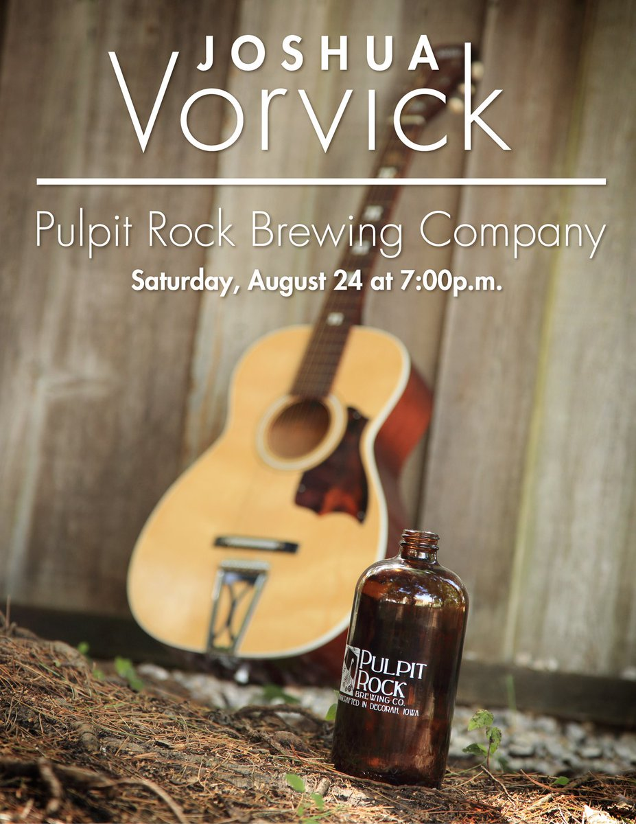 Glad to be doing my #singersongwriter thang this weekend for the 4th #anniversary of @PRBrewing<br>http://pic.twitter.com/wXJuvfsCOX