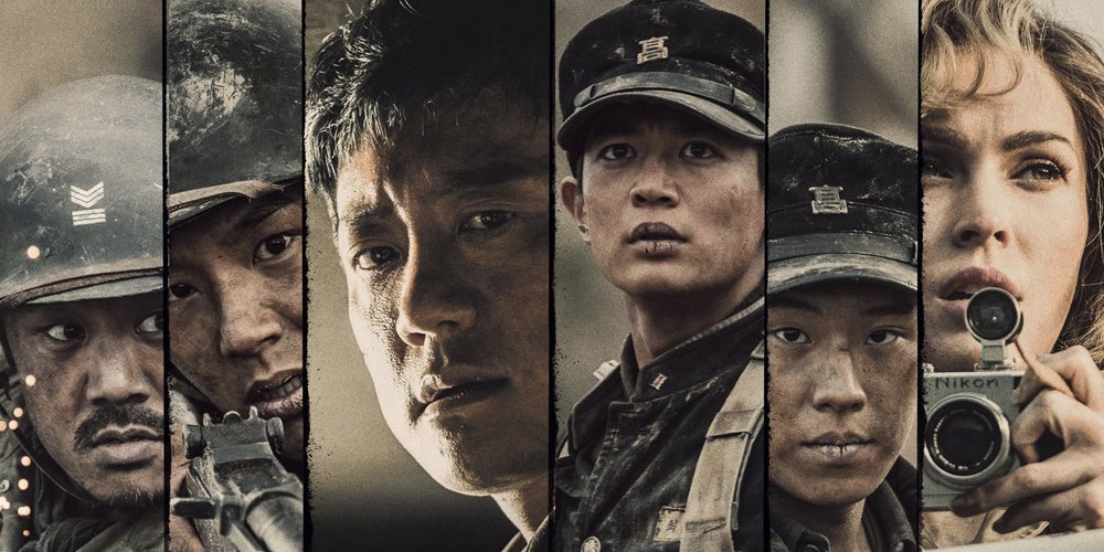 Jangsari: Forgotten Heroes starring SHINees Minho, Kwak Si Yang, Megan Fox, & More reveals official posters allkpop.com/article/2019/0…