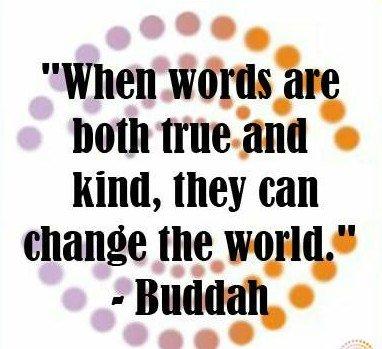 #wordsMatter #quoteoftheday #mondaythoughts #wisewords #BeTheChange #BeKind #Buddha #FamilyTRAIN #JoyTrain #ThinkBIGSundayWithMarsha
