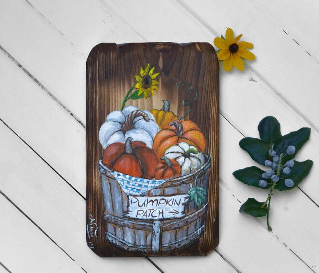 Hand painted pumpkin wood sign, small pumpkin patch decor, pumpkin painting on rustic wood, autumn decoration #etsy #homedecor #thanksgiving #farmhouse #falldecor #paintingonwood  https:// etsy.me/2ZaVaCB    <br>http://pic.twitter.com/wRUwEkaF9v