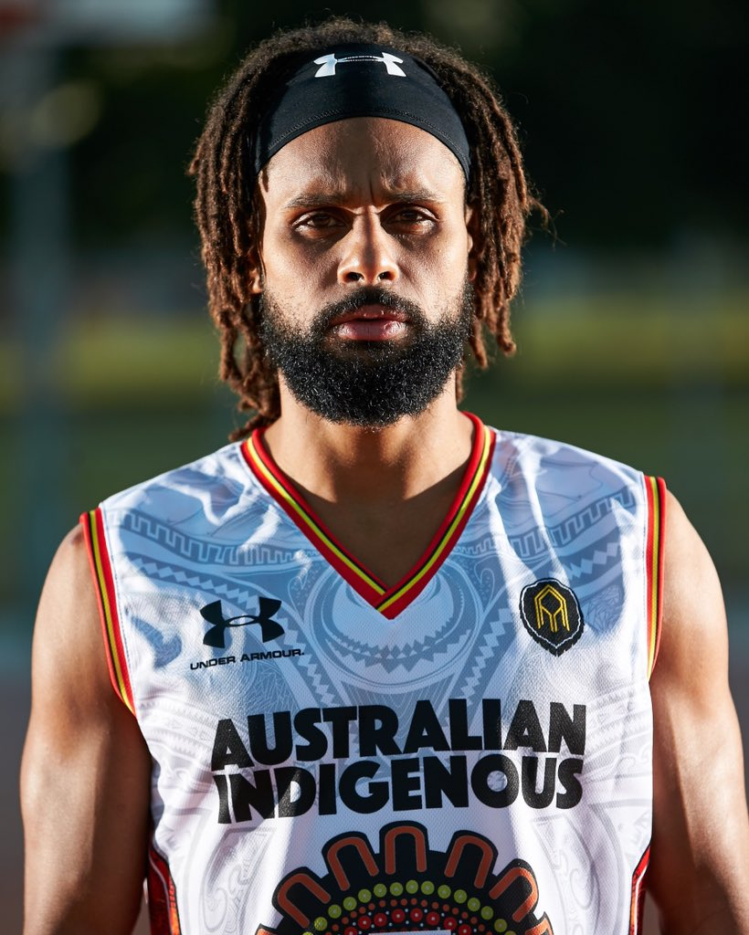 A classic, with deep roots 👣  Australian Indigenous Basketball have just released their new All Stars x Under Amour jersey 🔥   Marvel Stadium here we come!  #iBCS👣🏀