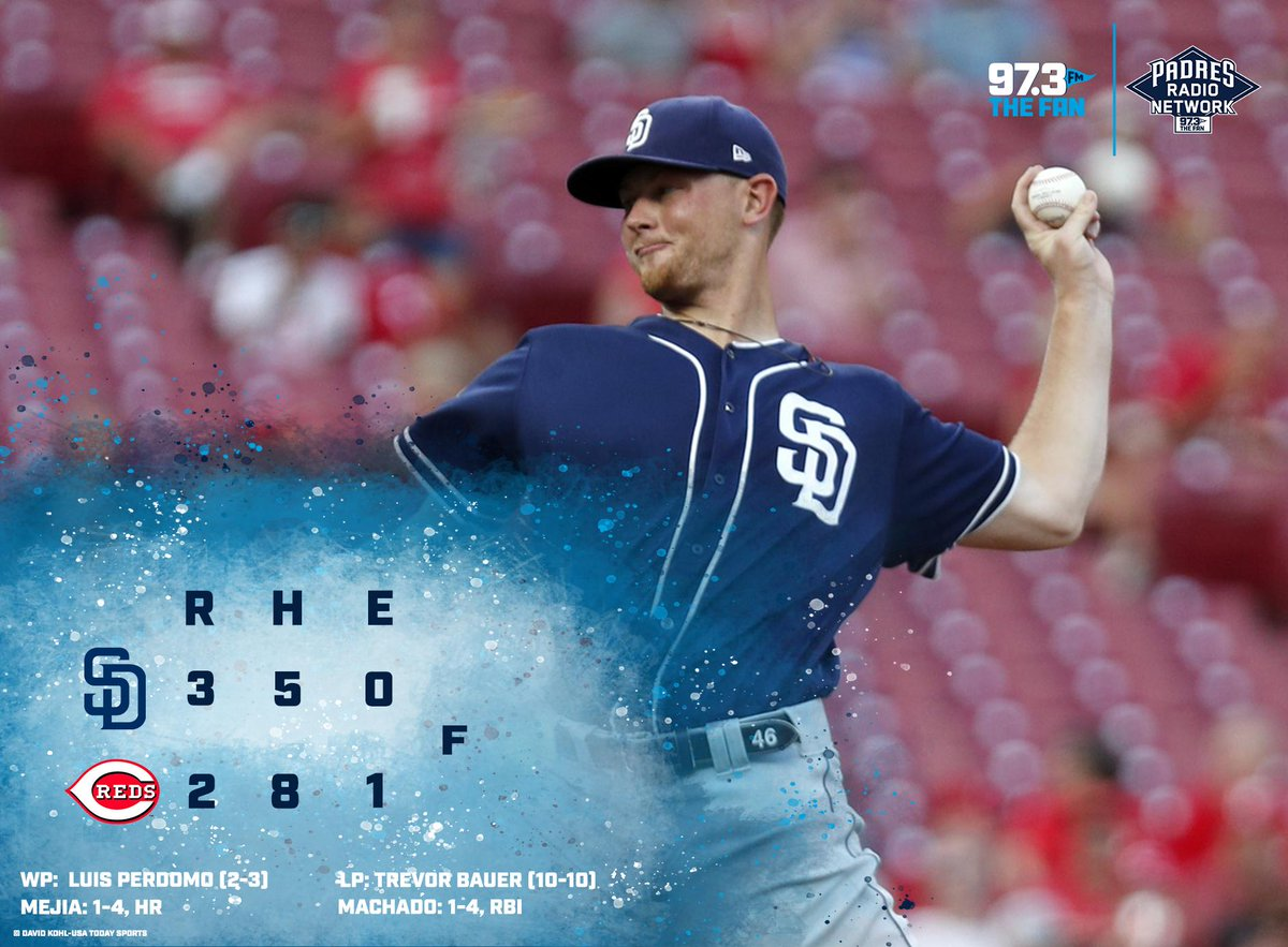 It was dramatic but Kirby Yates got the save and the Padres get the win in Cincinnati!