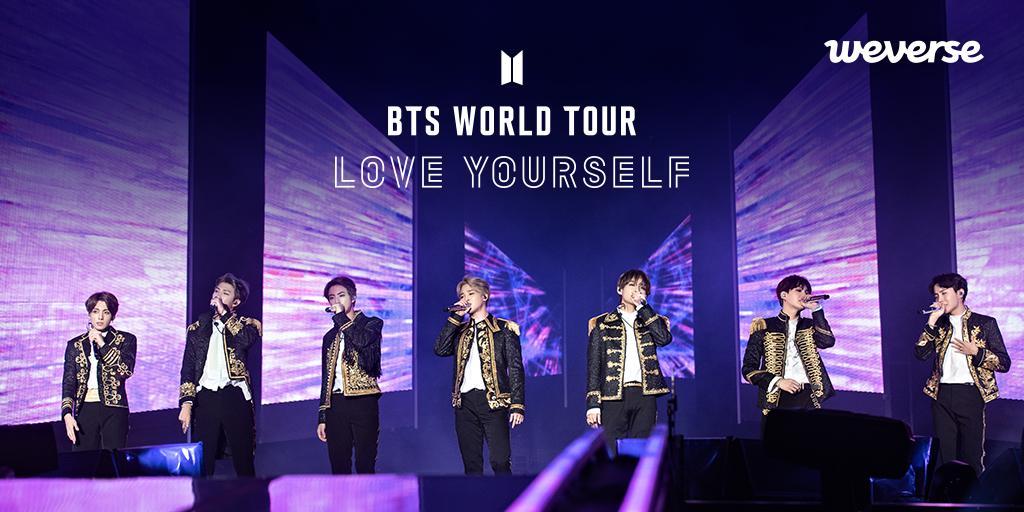 BTS WORLD TOUR 'LOVE YOURSELF' NEW YORK / EUROPE 위버스 론칭! 지난 5월 DVD로 발매되었던 LOVE YOURSELF 뉴욕, 런던 공연 실황을 이제 위버스에서 확인하세요👀 👉app.weverse.io/edxm0 #방탄소년단 #BTS #LOVE_YOURSELF_NY #LOVE_YOURSELF_EU #위버스 #Weverse