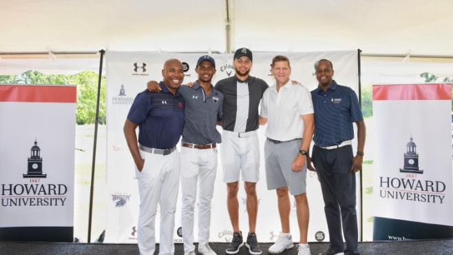 【影片】Curry將贊助霍華德大學未來6年的男子和女子高爾夫球隊!
