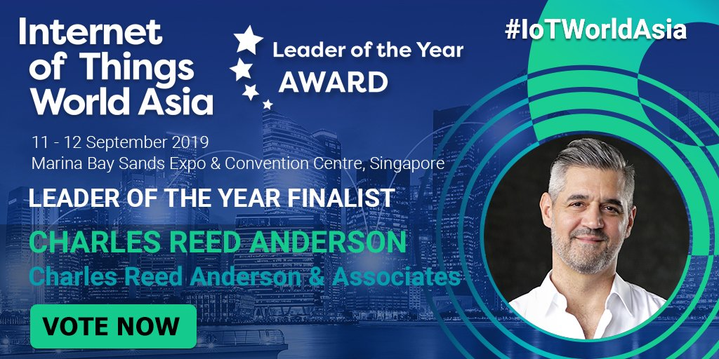 Congratulations @CRASingapore on making the shortlist for the #IoTWorldAsia IoT Leader of the Year award → spr.ly/6012ENz5q #TechXLR8