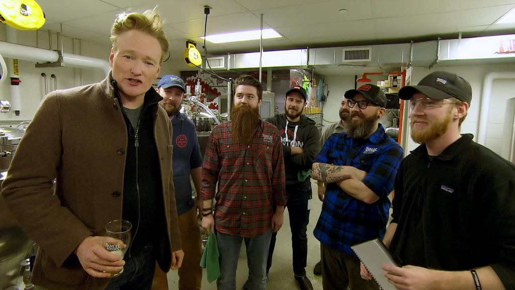 ICYMI: Conan returned to his hometown of Boston to visit the Samuel Adams brewery. http://conan25.teamcoco.com/node/104996