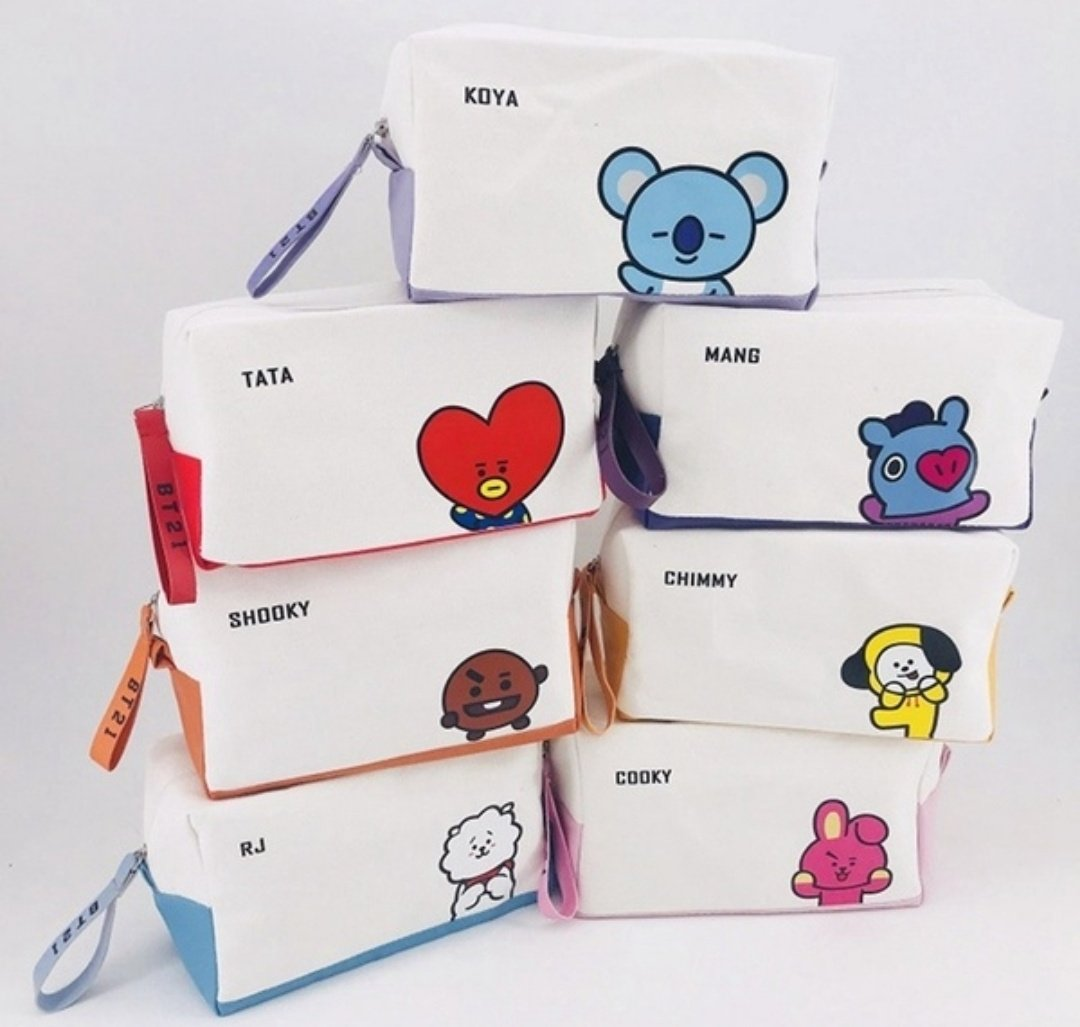Back to school giveaway   Prize: Unofficial BT21 makeup/pencil bag  Please make sure to follow the rules to qualify!  Rules:  - FOLLOW ME - RT - Tag a friend  * ENDS IN 24 HRS *  #BTS  #BTSGiveaway #GIVEAWAY #BTSGA #GA #BT21GA #BT21GIVEAWAY #BT21<br>http://pic.twitter.com/5vng03yIIM