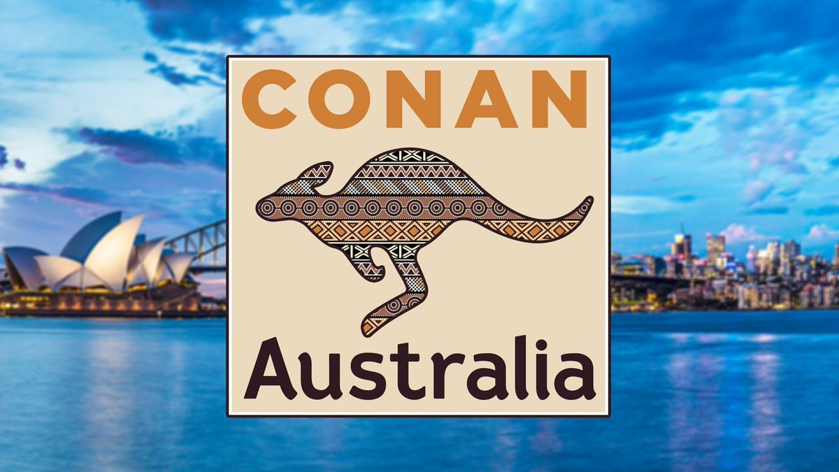 "Watch Conan's latest travel special, ""Conan Without Borders: Australia,"" @ https://teamcoco.com/australia #ConanAustralia"