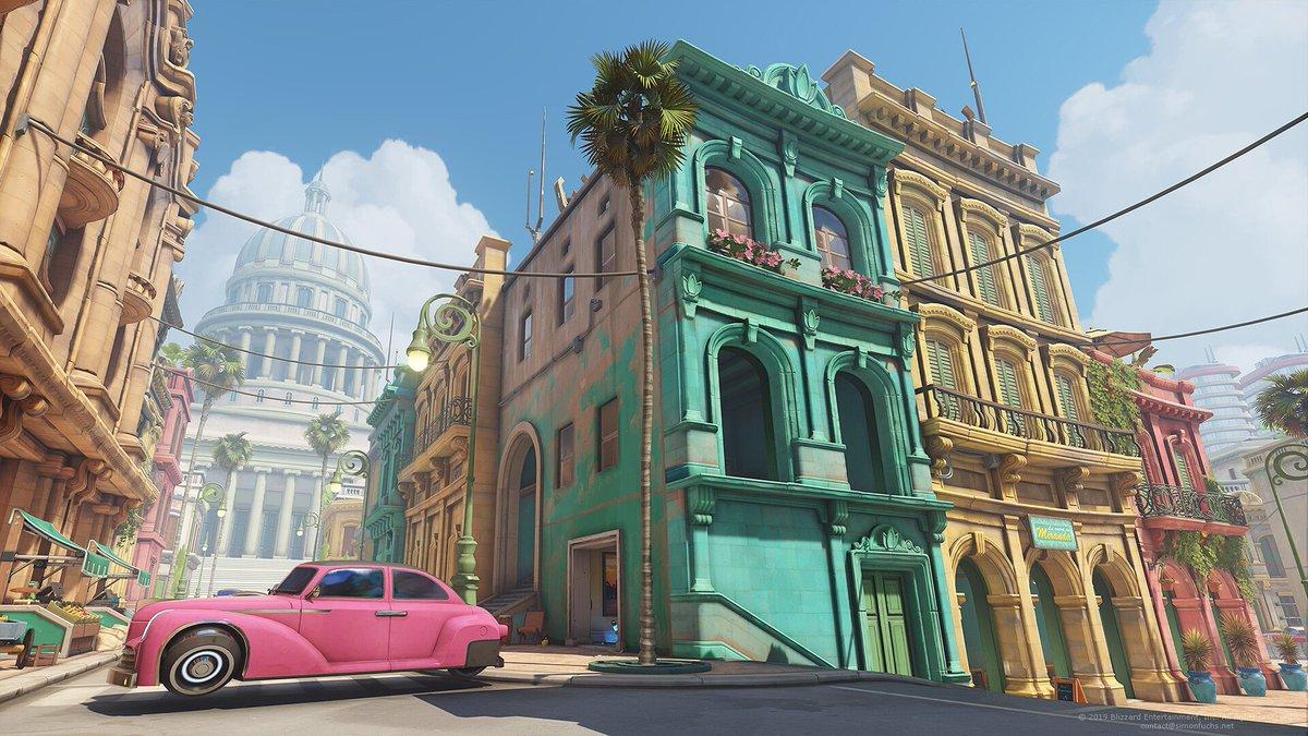 Havana streets for #Overwatch by @SF_simonfox #ArtStationHQ  https://www. artstation.com/artwork/xzLmer    <br>http://pic.twitter.com/Lb3d9HDkF0