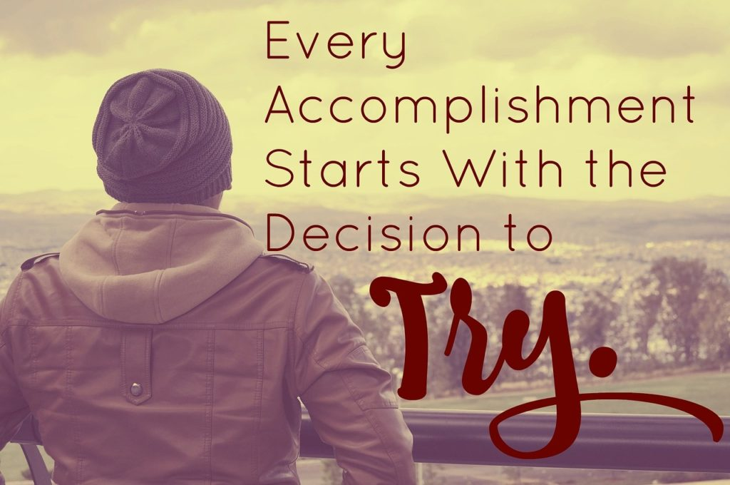 Every #accomplishment starts with the decision to try. #quoteoftheday #quotestoliveby<br>http://pic.twitter.com/u0ulRtQArN