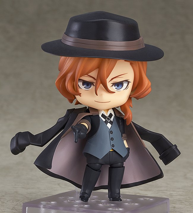 Nendoroid Chuya Nakahara also comes back with a rerelease! Pair him with Nendoroid Osamu Dazai (sold separately). Be sure to add him to your collection with the preorder link:   http:// hs.goodsmile.link/3bAz50vCOxu      #goodsmile #nendoroid #chuyanakahara #bungostraydogs<br>http://pic.twitter.com/SUhBNNXeAm