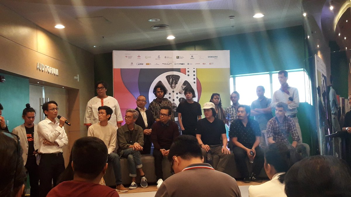 Now Happening: Q&A with the organizers and musicians who will score the films for the 13th International Silent Film Festival Manila  The festival will open on August 30 at the Samsung Hall, SM Aura. #ISFF <br>http://pic.twitter.com/uKJXhuwKa7