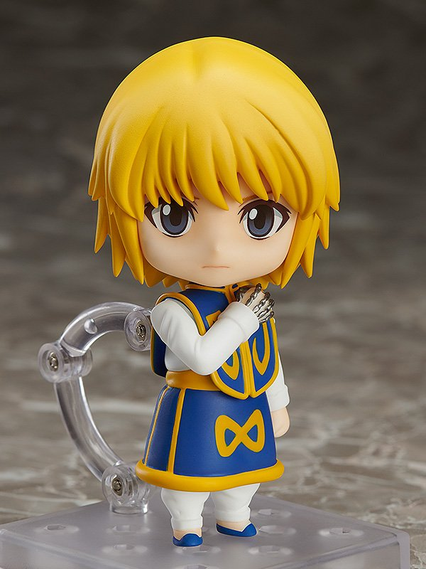 """From the anime series """"HUNTER x HUNTER"""" comes a Nendoroid of Kurapika, the last survivor of the Kurta Clan! Be sure to preorder him alongside the Gon & Killua that was recently announced with this link:   http:// hs.goodsmile.link/QjNL50vCOHY      #goodsmile #nendoroid #hunterxhunter #hxh #kurapika<br>http://pic.twitter.com/GKd4twNFXj"""
